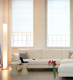 Plissees für Wohnzimmer aussuchen