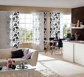 Passende Wohnzimmer Vorhänge für Ihr Ambiente